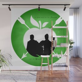 OUTLAW QUEEN (Green) Wall Mural