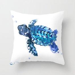 Sea Turtle Hawaii Throw Pillow