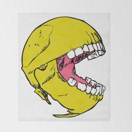 Ancient Pac-man Throw Blanket