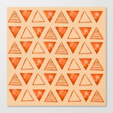 triangle pattern Canvas Print