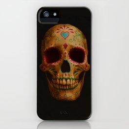 Sugar skull iPhone Case