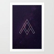 Galaxy A Art Print