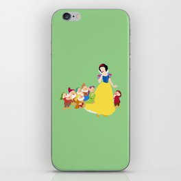 snow white and the seven dwarfs iPhone Skin