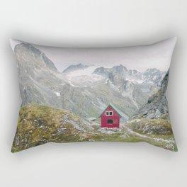 Mint Hut Rectangular Pillow