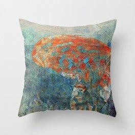 Moths 4 Throw Pillow