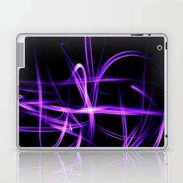 Abstract Purple Light Effect Laptop & iPad Skin