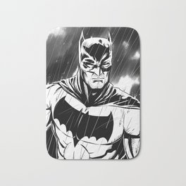 Bat-Man Bath Mat