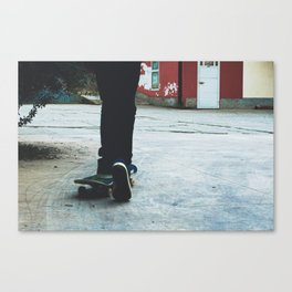 Skate Mood Canvas Print