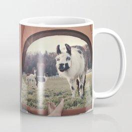 NEVER STOP EXPLORING - BACKCOUNTRY CAMPING Coffee Mug