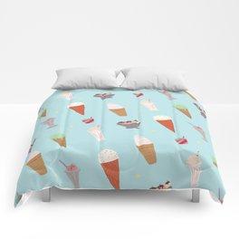 Ice Cream Madness Comforters