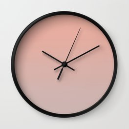 ARCADE LADIES - Minimal Plain Soft Mood Color Blend Prints Wall Clock