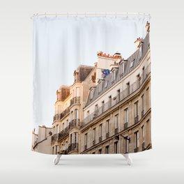Along the Seine Shower Curtain