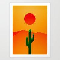 desert Art Prints featuring Desert by Bakus