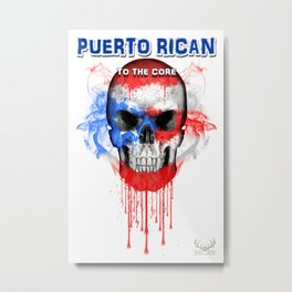 To The Core Collection: Puerto Rico Metal Print