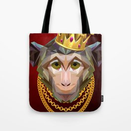 The King of Monkeys Tote Bag