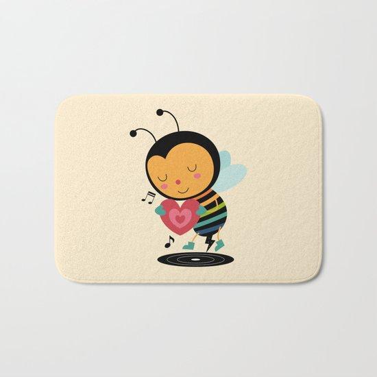 Bee Yourself Bath Mat