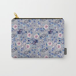 Crystalised Rose in Lilac Haze Carry-All Pouch