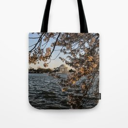 Cherry Blossoms at Tidal Basin Tote Bag