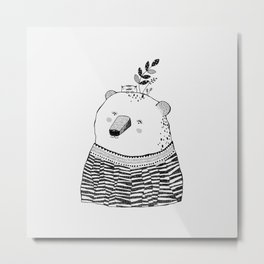 Cutie Pol Metal Print
