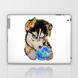 Arien - The Dreaming Husky Laptop & iPad Skin