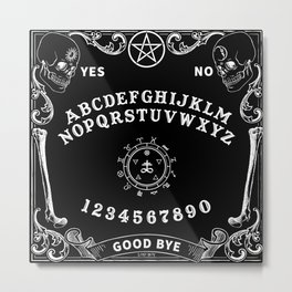 Eye Ouija Table Metal Print
