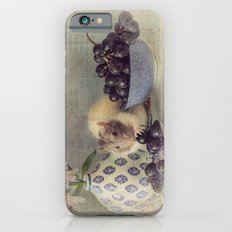 Snoozy loves grapes iPhone 6s Slim Case