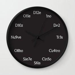 Cl0ck Wall Clock