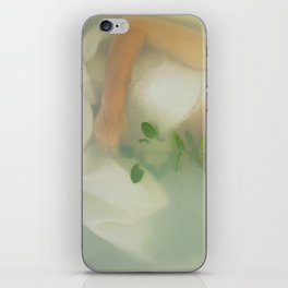 bath rose iPhone Skin