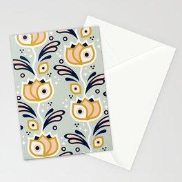 One Eyed Tulips – Marigold & Mint Stationery Cards