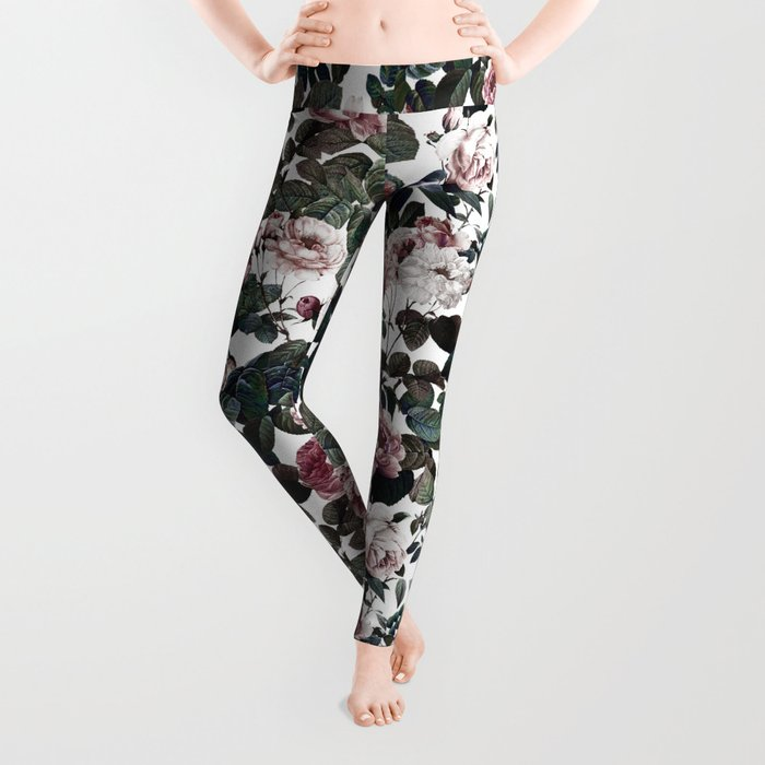 Vintage garden Leggings