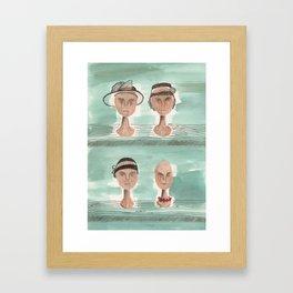 Dead Wives Framed Art Print