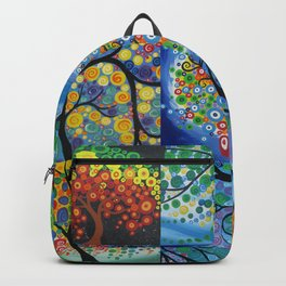 forest of dreams collages Backpack