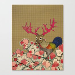 Chickedeer Blossoms Canvas Print