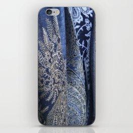 Blue Scarves iPhone Skin