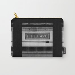 Fifth Ave Subway Carry-All Pouch