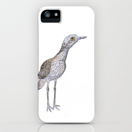 Suspicious Curlew iPhone Case