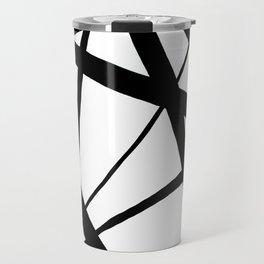 A Harmony of Lines and Shapes Travel Mug