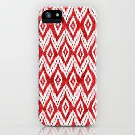 Bohemian Christmas - Ruby iPhone Case