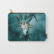 The billy goat  skull Carry-All Pouch