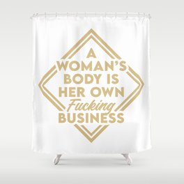 The future is female, girl power, grl pwr, Smash The Patriarchy, Sylvia Plath Shower Curtain