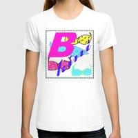 bikini T-shirts featuring bikini by Mike van der Hoorn