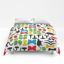 Frida Cutout Pattern Comforters
