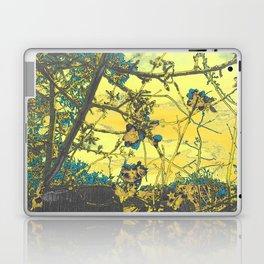 Blossoms Abstract Yellow Laptop & iPad Skin
