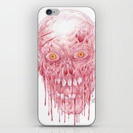 Flesh Eating Zombie Artwork iPhone Skin