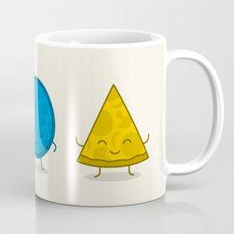 Bauhaus Pizza - Cute Doodles Coffee Mug