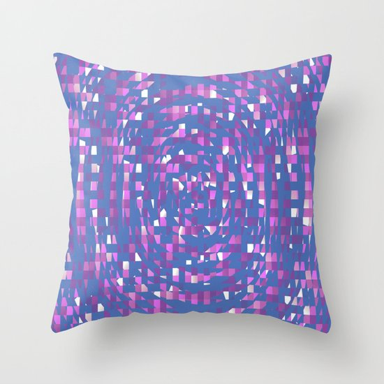 Abstract AA Throw Pillow