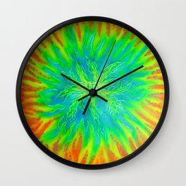Fire Vortex Wall Clock
