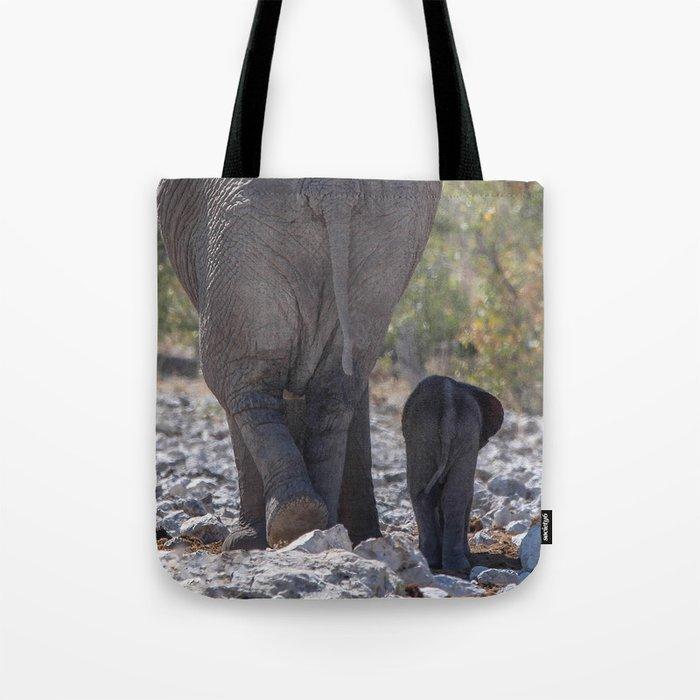 Elephant Love 5 Tote Bag
