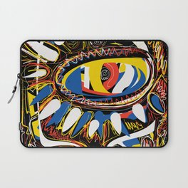The Third Eye Primitive African Art Graffiti Laptop Sleeve