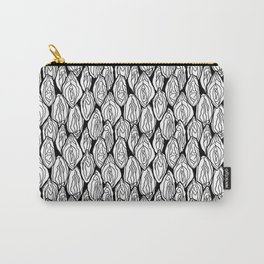 Vagina - Rama, White and Black Carry-All Pouch